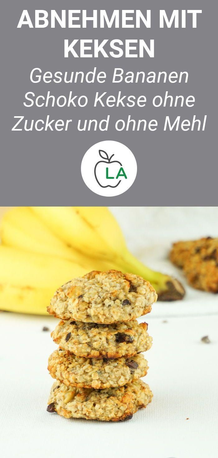 Vegan Cookies Without Sugar - Healthy Oatmeal Recipe  - Gesunde Fitness Rezepte - #Cookies #Fitness...