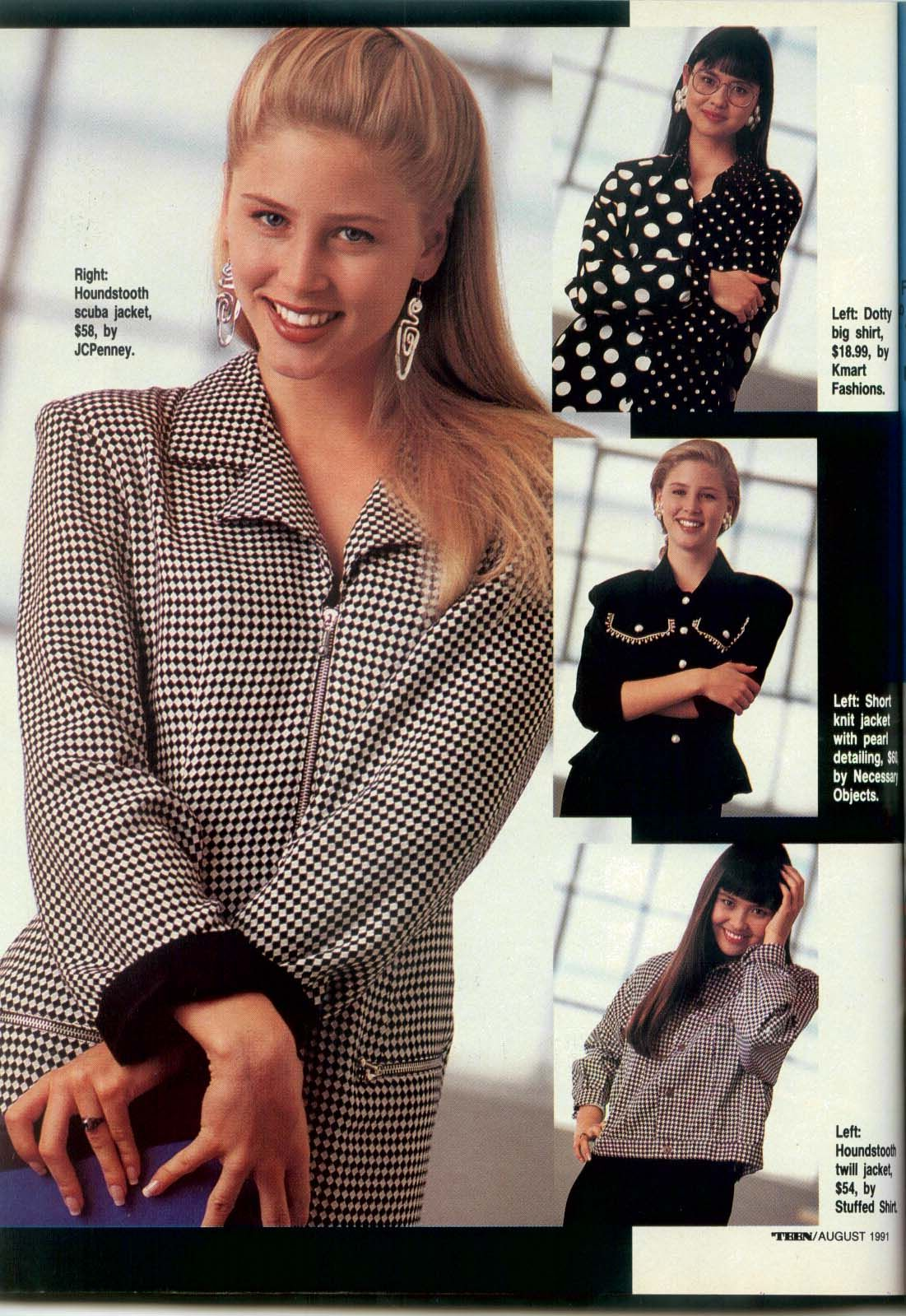 Teen 1991 08 fashion | TEEN magazine / Seventeen magazine
