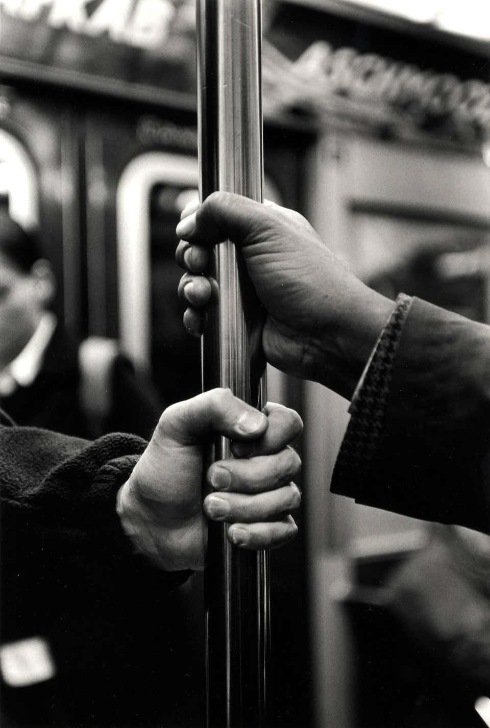 Photo of Kazuo Sumida – B Train (from the series A Story of the New York Subway)