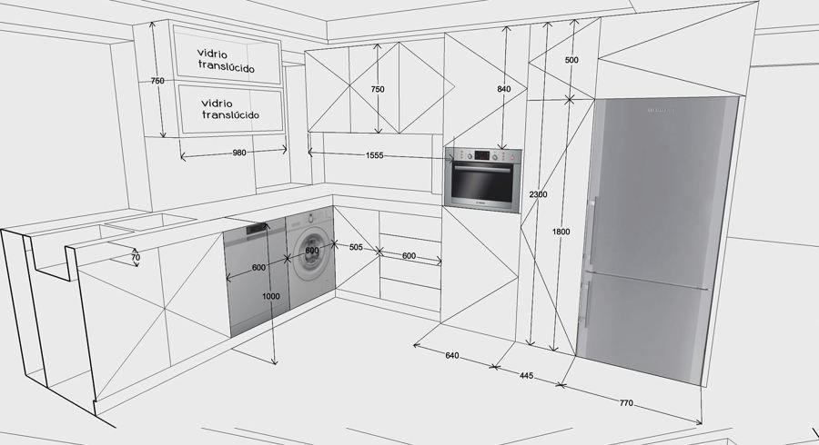 planos cocina planos cocina pinterest planos On planos de cocinas gratis