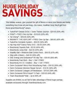Pre-Black Friday Fitness Sale | Allison Tibbs Fitness