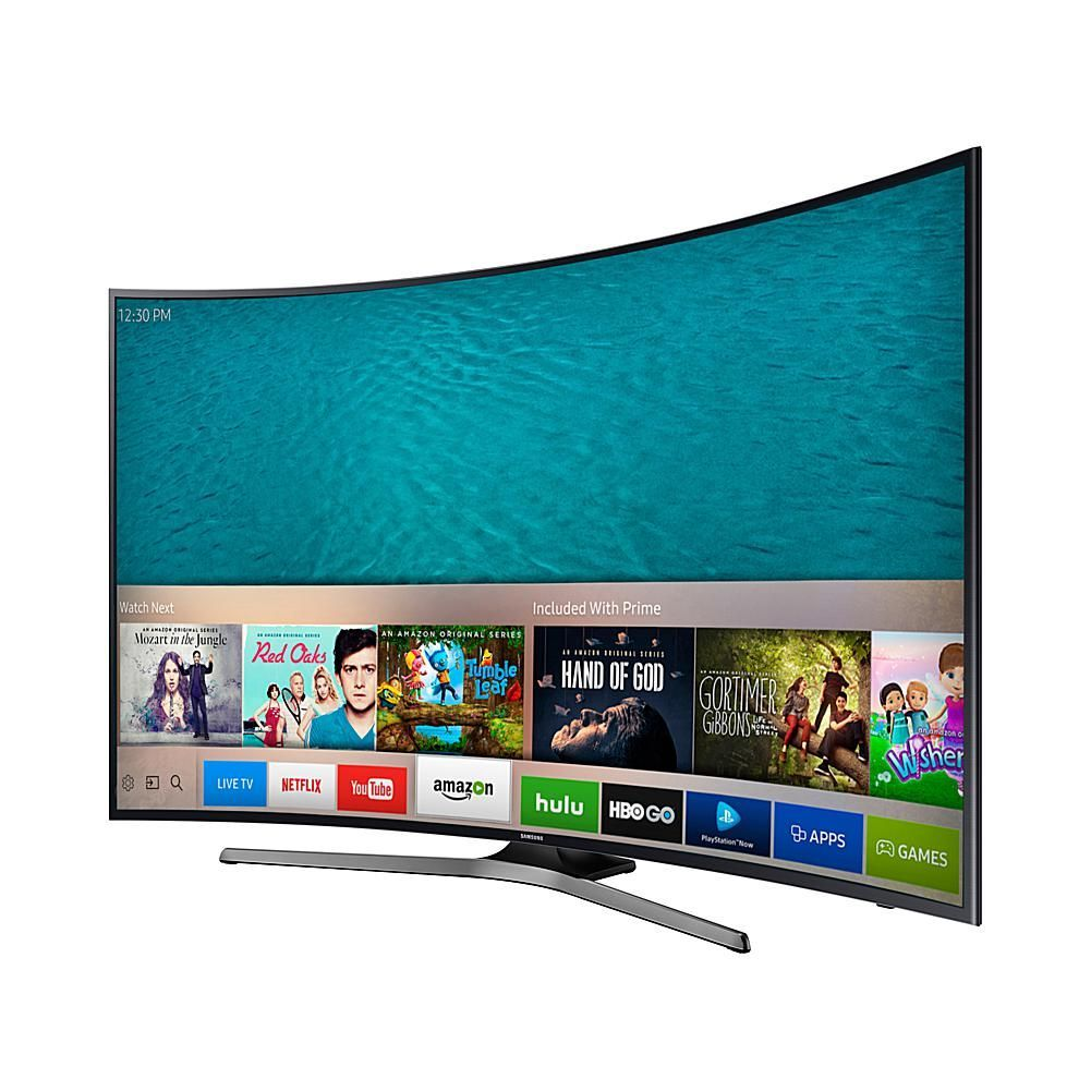 Samsung 55 4k led ultrahd curved smart tv with 65 hdmi