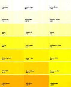 Orange paint colors