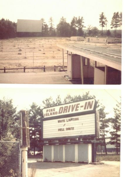I can remember going to the Pine Island Drive  - in many time in the early 70's. The Amusement Park was closed, but  they still continued to run the drive-in during  the summer. The roller coaster was still standing abandoned and unused.