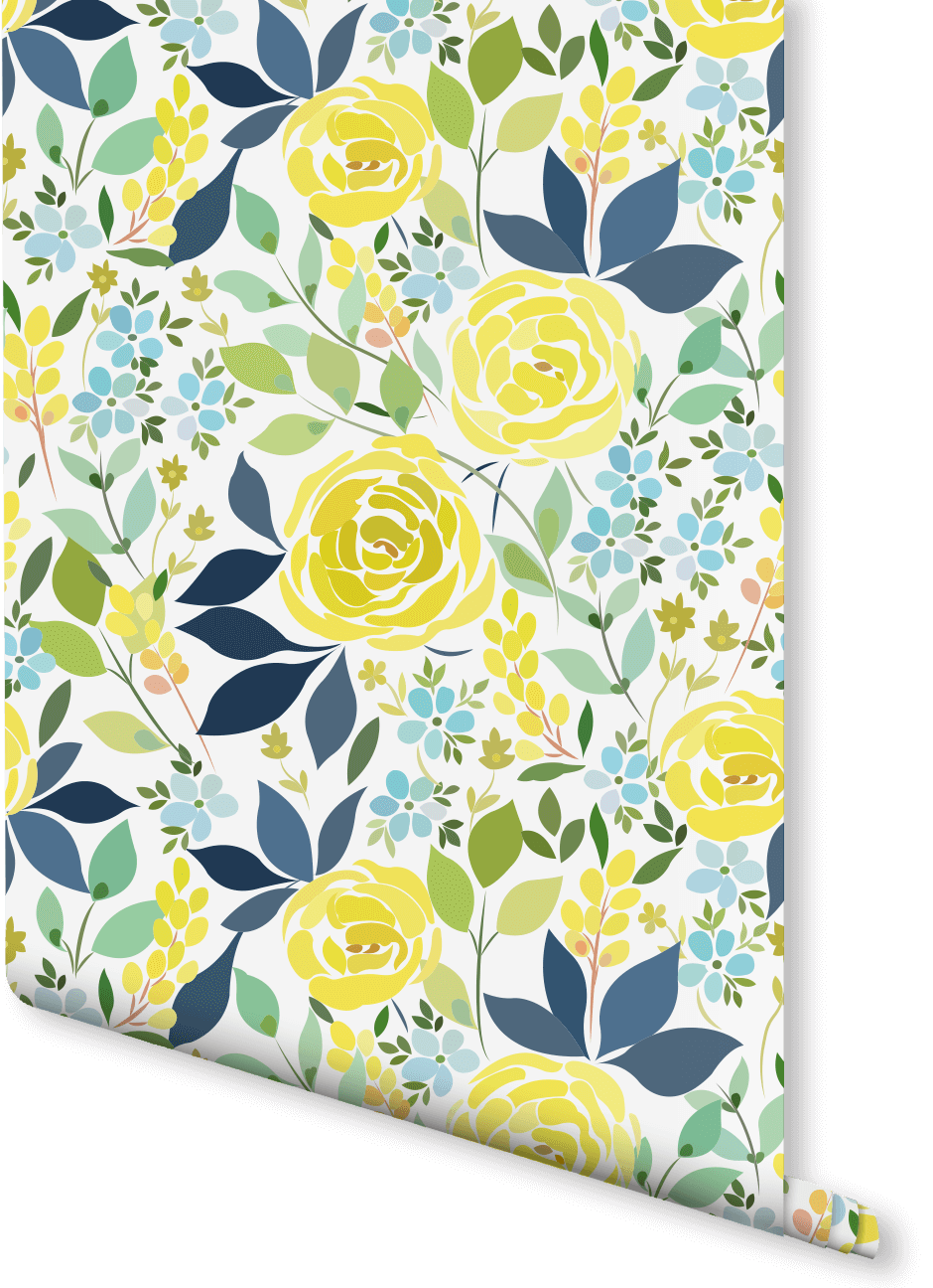 Inject a bit of zest into your home with this floral