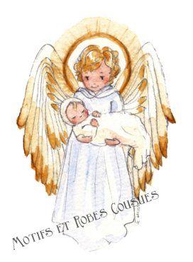 Sehr Petit ange | Dieu avant tout | Pinterest | Deco enfant, Anges et  AJ44