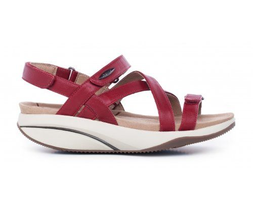 7cd3dd83c182 Amazon.com  MBT Kiburi Ladies Red Casual Shoe  Shoes  148.95