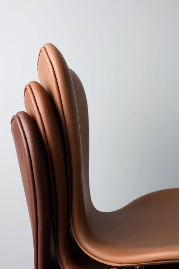 series 7 chair by arne jacobsen fritz hansen sorensen leather