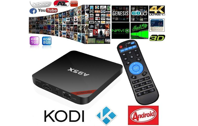 Android Tv Box A95x Amlogic S905x 2g Ddr3 Ram 16g Android 7 1 2 4g 5 0g Dual Band Wifi 4k 60fps Kodi 16 1 Dualbandw Android Tv Box Kodi Free Movies And Shows