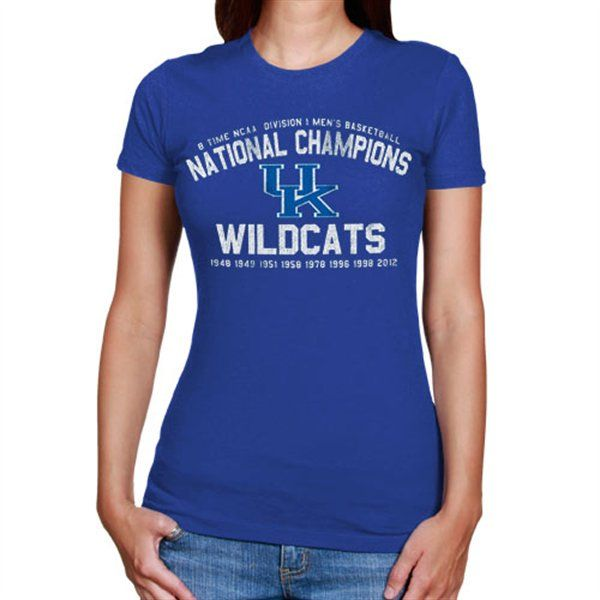 Womens Kentucky Wildcats Champs T-Shirt