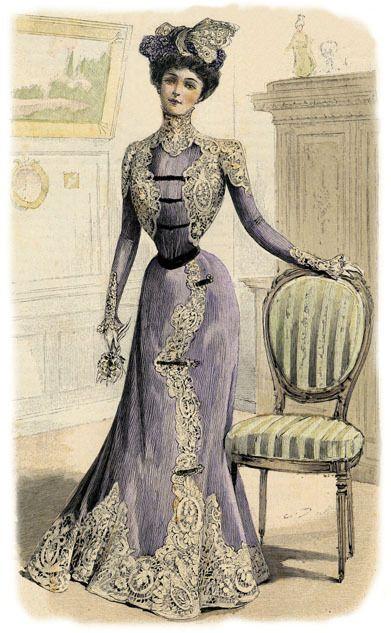 Populaire MODE ANCIENNE | 1900 Idées robes | Pinterest | Ancien, Belle  QY16
