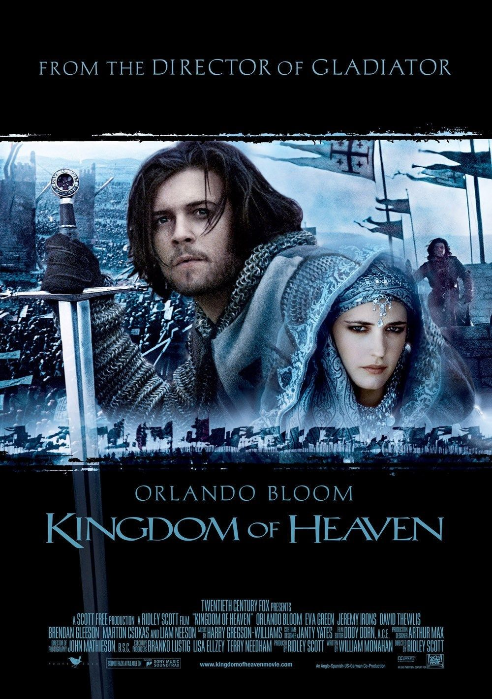 Kingdom Of Heaven Filmes Epicos Filmes Posteres De Filmes
