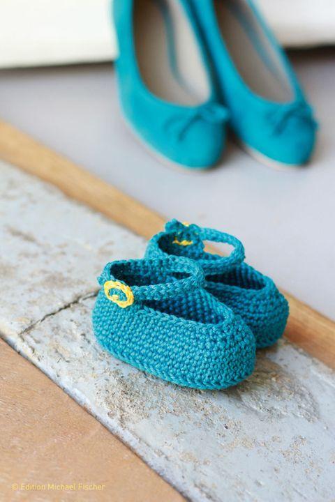 Babyschuhe häkeln: Sind die niedlich | Babyschühchen, Niedlich und ...