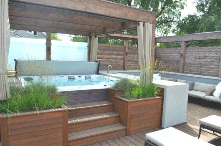 OutdoorWhirlpool Gönnen Sie sich im Garten einen echten