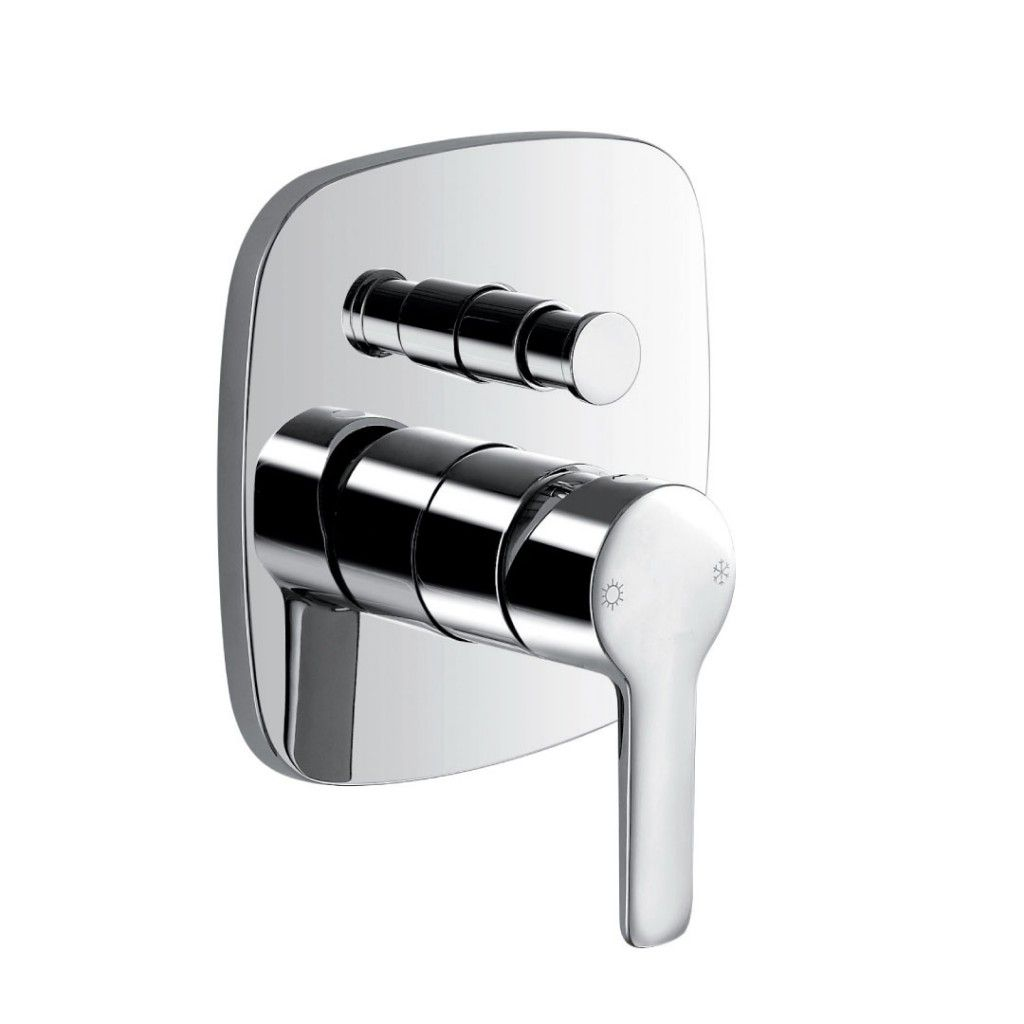 Flova Urban Concealed Manual Shower Valve With Diverter Urshvo Div