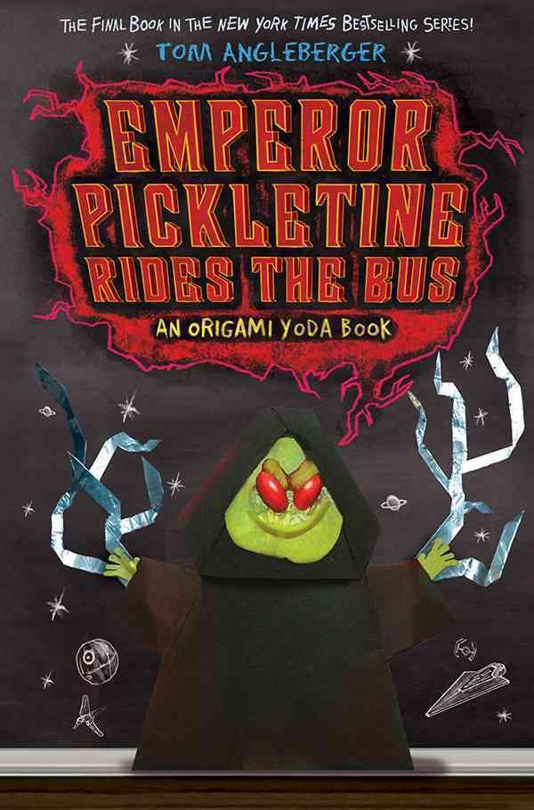 Emperor Pickletine Rides The Bus An Origami Yoda Book Hardcover Overstock Com Shopping The Best Deals On Age Origami Yoda Book Origami Yoda Book Origami