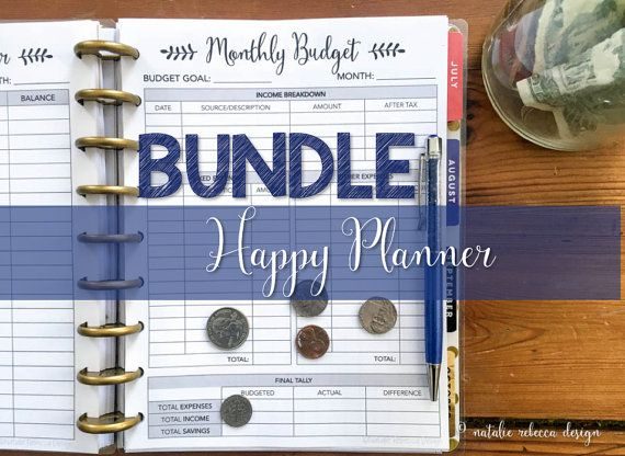 image about Happy Planner Budget Printable named Pleased Planner Price range Printable Add, Pleased Planner Finance