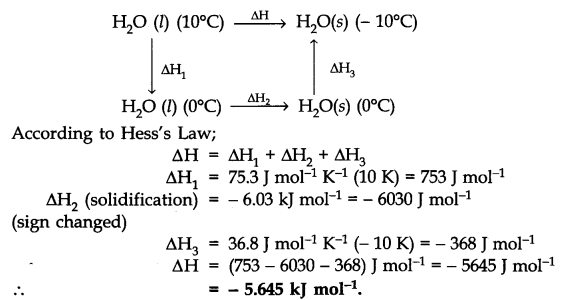 NCERT Solutions Class 11 Chemistry Chapter 6 - Download PDF