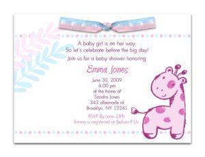 Simple Baby Shower Invitation Ideas