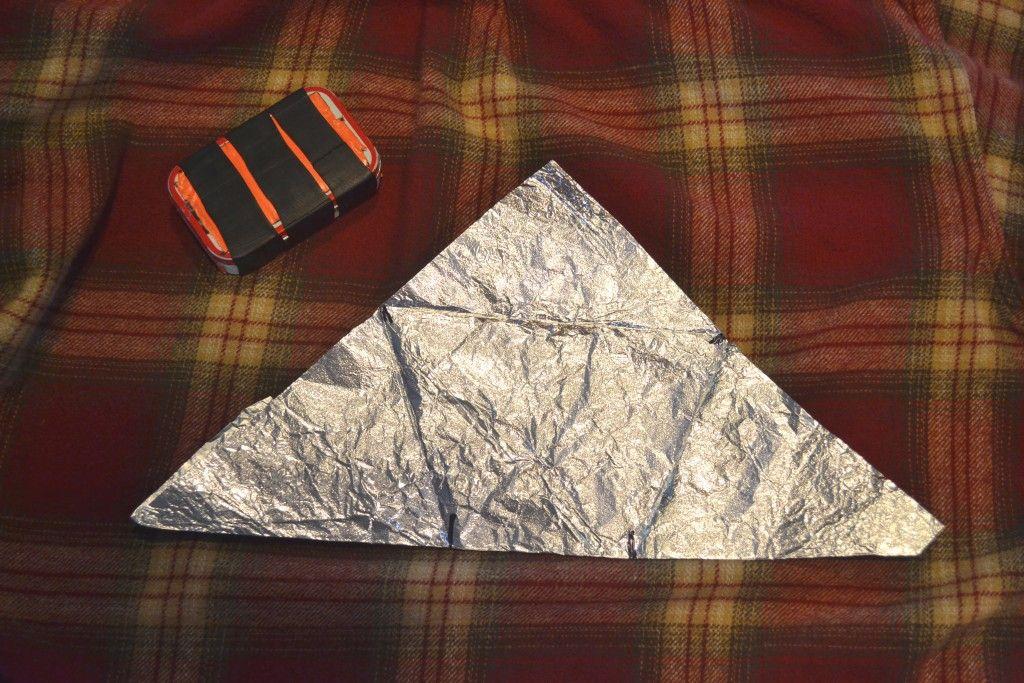 isosceles Geometry, Aluminum foil, Triangle