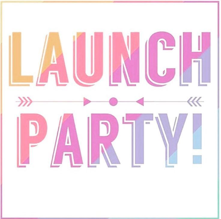 Launch Party Graphic