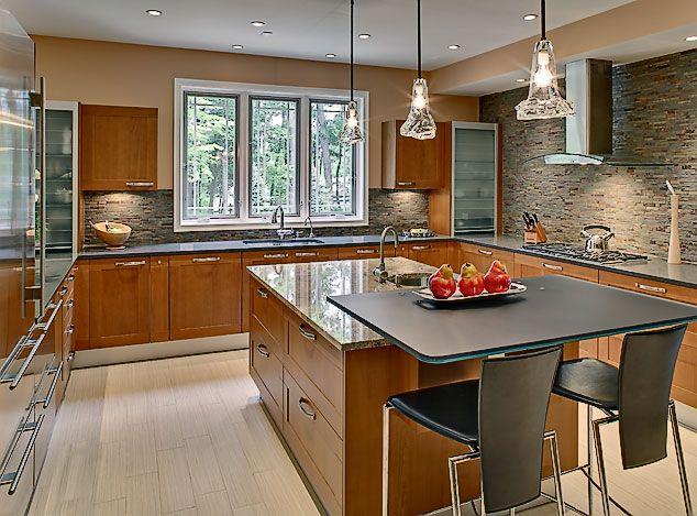 Dazzling Transitional Kitchen Design home design Pinterest