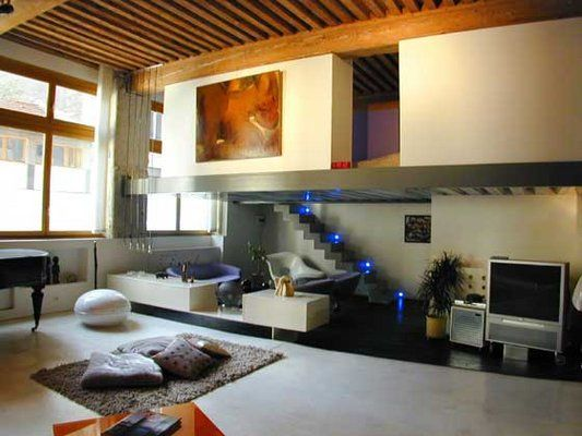 d coration loft mezzanine photo decorateur d 39 int rieur lyon loft duplex maison appartement. Black Bedroom Furniture Sets. Home Design Ideas