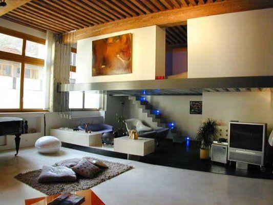Décoration Loft Mezzanine Photo Decorateur Dintérieur Lyon - Porte placard coulissante jumelé avec serrurier montesson