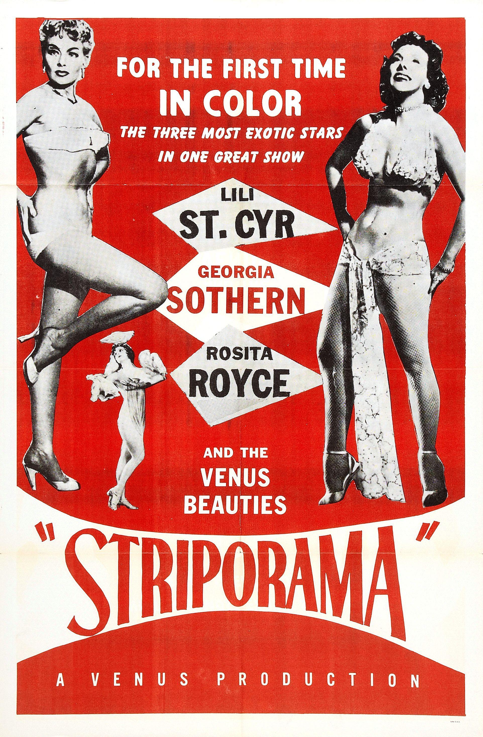 Poster design 1950 - Vintage Burlesque Poster Striporama Reprint By Vintagepinupdreams