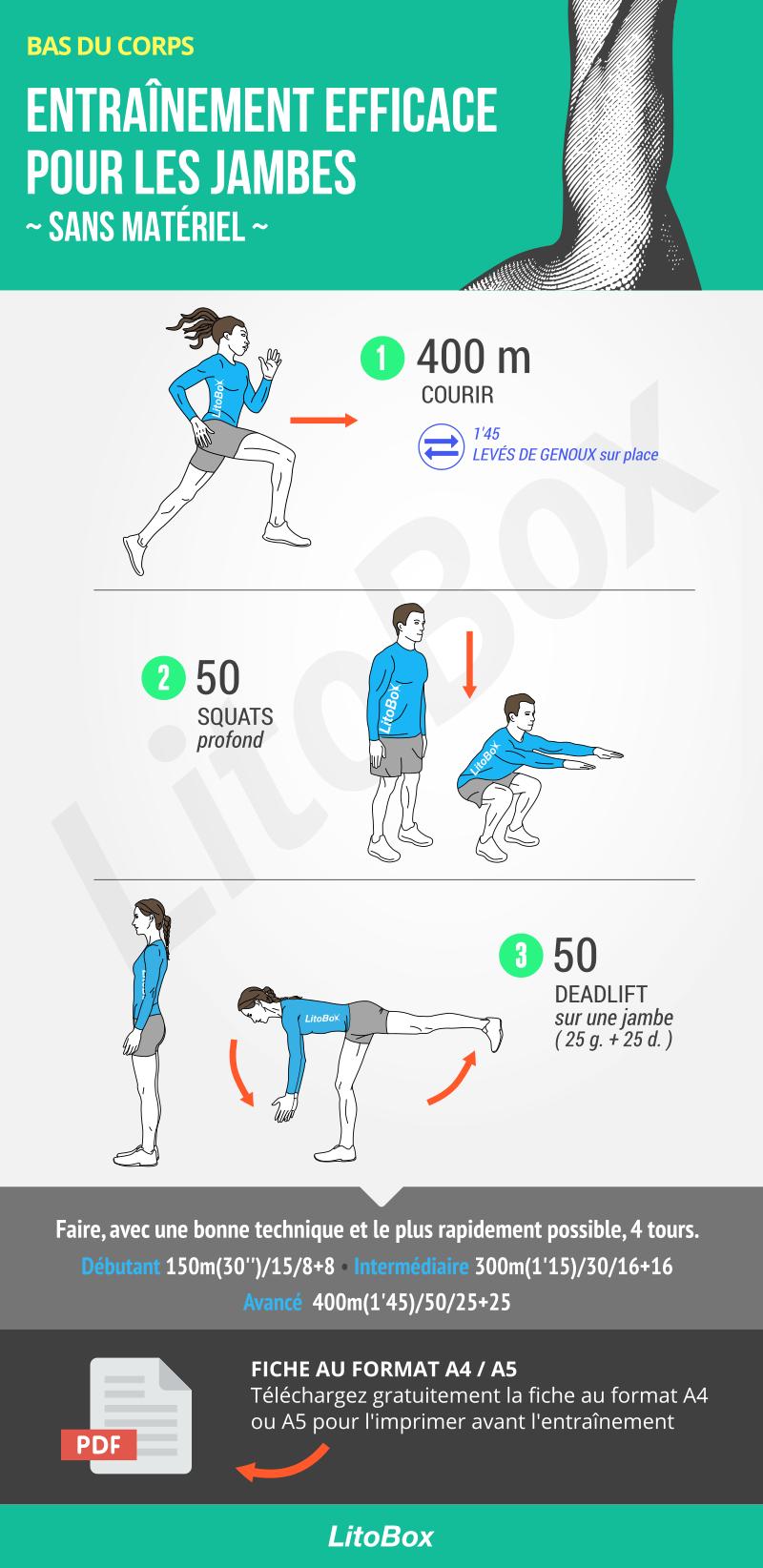Programme Rapide Et Intense Pour Les Jambes Compose De 3 Exercices Au Poids Du Corps Exercice Exercices Bas Du Corps Musculation Jambes