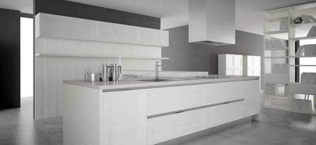 grattarola küche kochinsel weiß grau | Küche | Pinterest