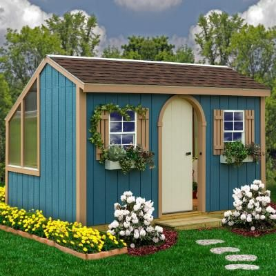 Best Barns Clairmont 8 Ft X 12 Ft Grow N Stow Greenhouse Kit With Floor Clairmont812df The Home Depot Greenhouse Shed Combo Greenhouse Shed Wood Shed Kits