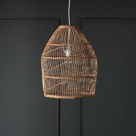 Zolan Rattan Pendant Shade Chandeliers  Ceiling Lights Graham