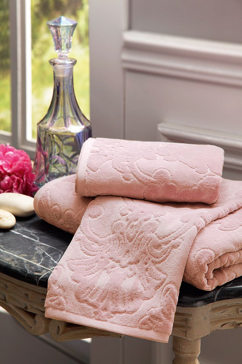 Lady-gray-dreams Shades Of Pink Rose & Blush In 2019 Towels Bathroom