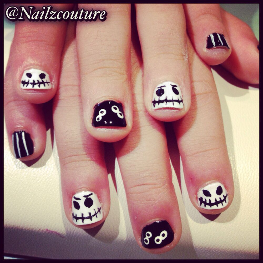 Kids halloween nails | Funky nails, Nails, Diy nails