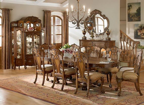 Dining Roomclassic Dining Room Designs From Aico Furniture Alluring Classic Dining Rooms Review