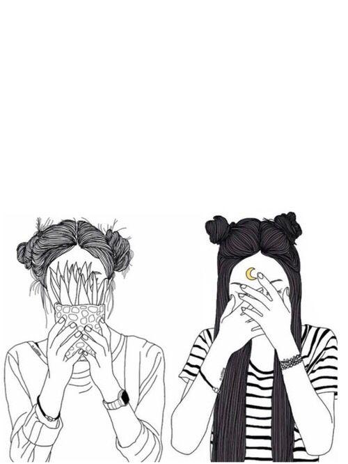 Girl Grunge And Tumblr Image Dessin Amitie Art Grunge