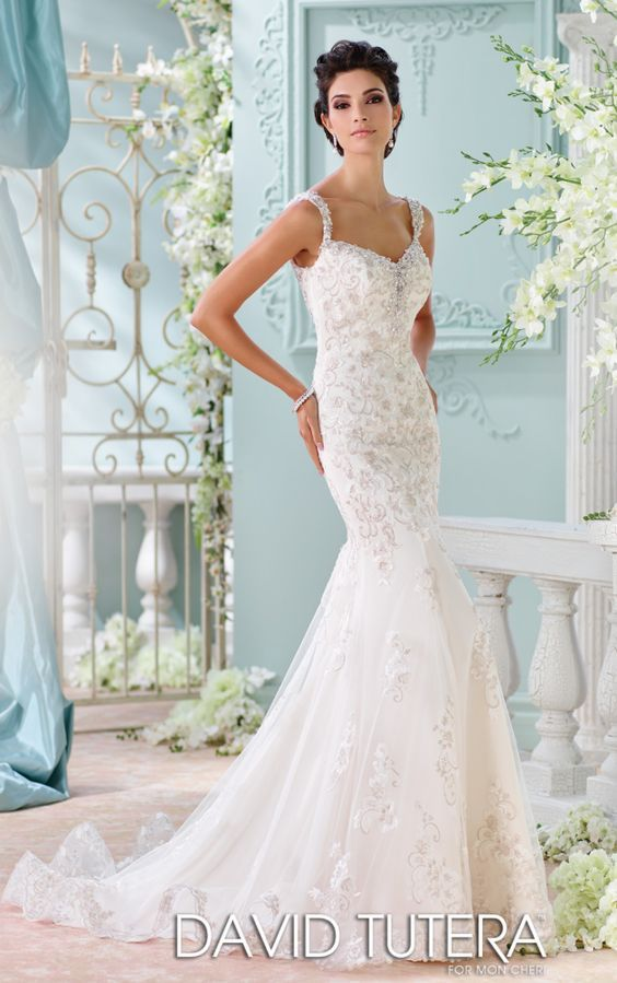 David Tutera Wedding Dress Inspiration | Vestiditos