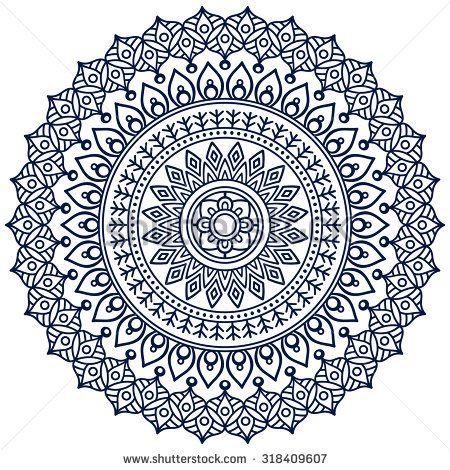 Mandala Vintage Decorative Elements Oriental Pattern Vector Illustration Islam Arabic Indian T Mandala Coloring Pages Flower Drawing Mandala Design Art