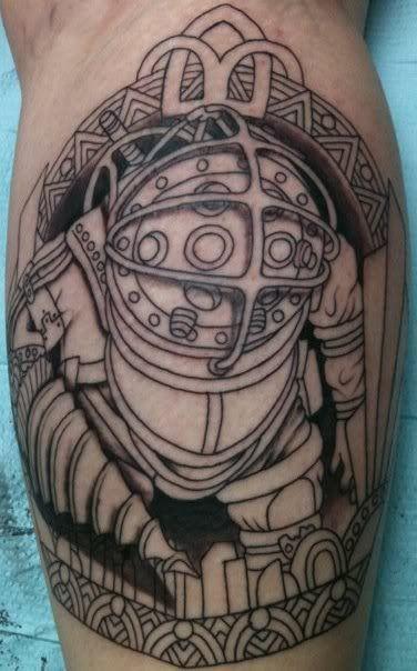 big daddy tattoo idea bioshock pinterest