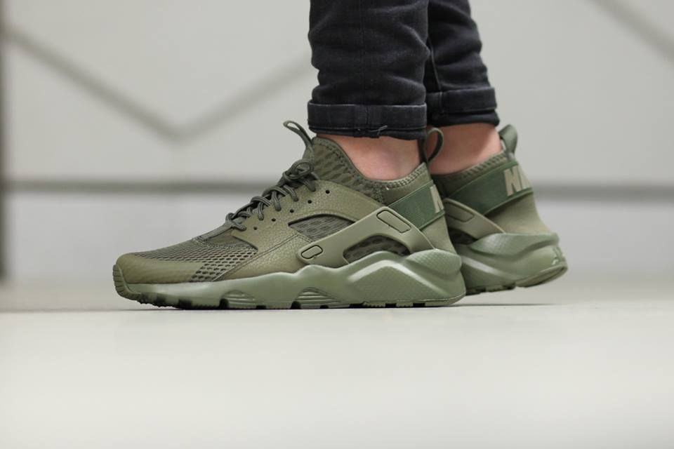 0783cd339cf18 Nike Air Huarache Run Ultra BR  Medium Olive  -...