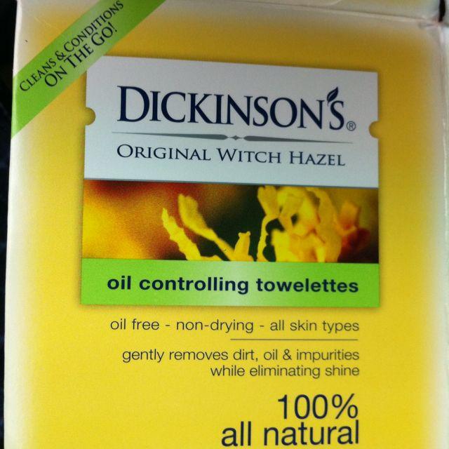 Dicksons facial wipes
