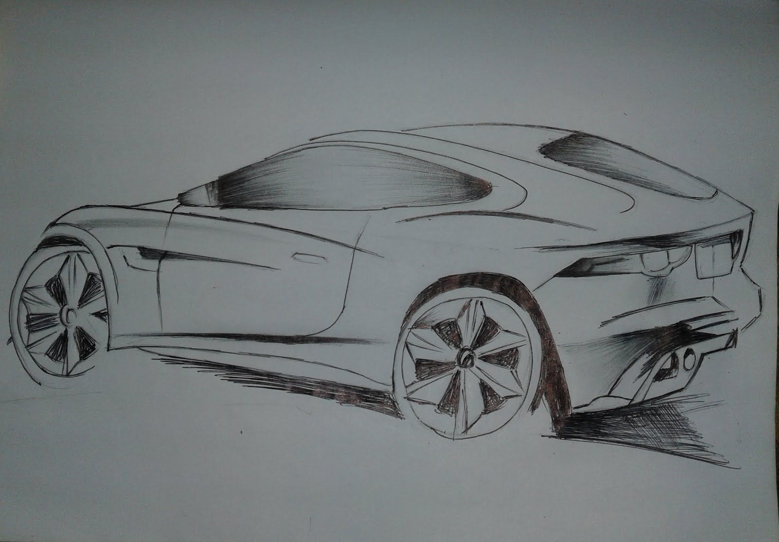 How To Draw Sports Car Bilder