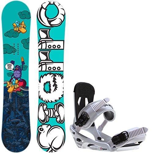 Sierra Stunt Wide 153 Mens Snowboard + Sapient Stash White