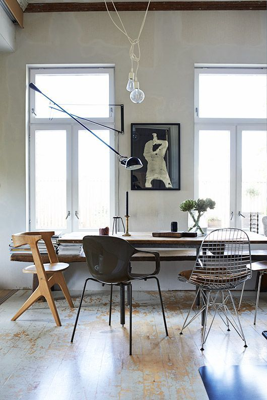 Eames DKR Wire Chair MOD 265 Light by FLOS