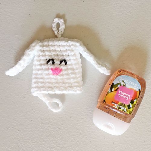 Hand Sanitizer Cozies Free Crochet Pattern Crochet Purse
