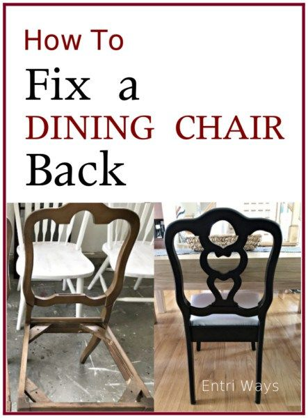 Room How To Fix A Broken Dining Chair