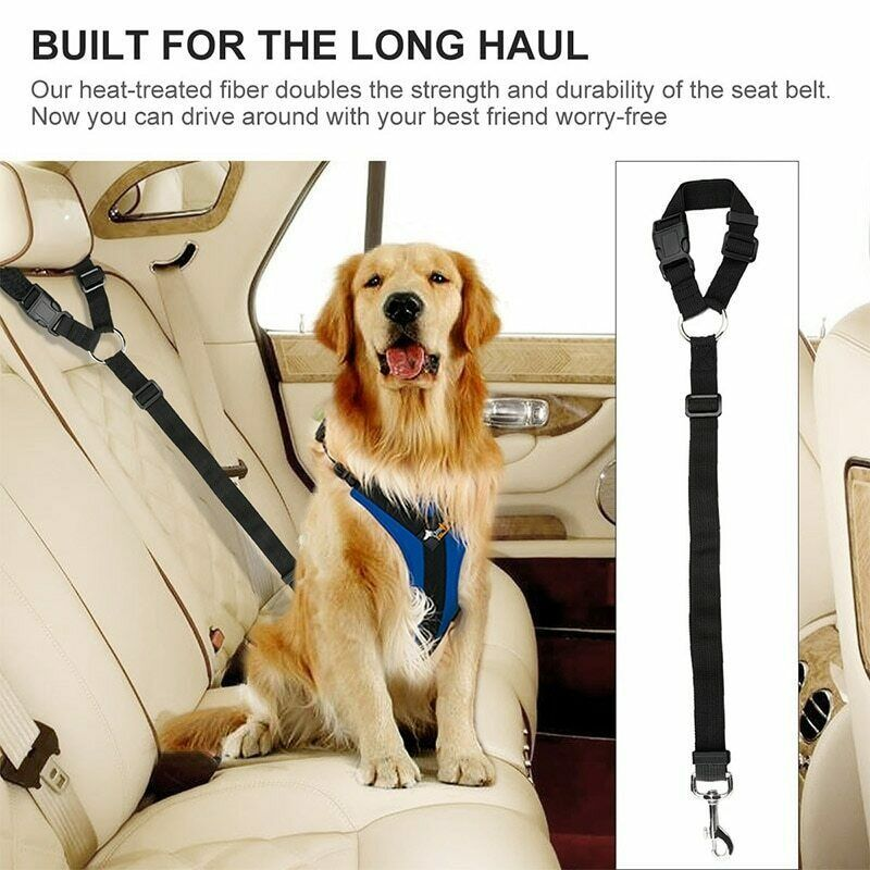 Details about pet dog puppy car safety seat belt harness