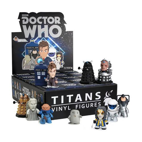 Doctor Who Titans 10th Doctor Vinyl Figure Display Box Vinyl Figures Doctors Series Doctor Who