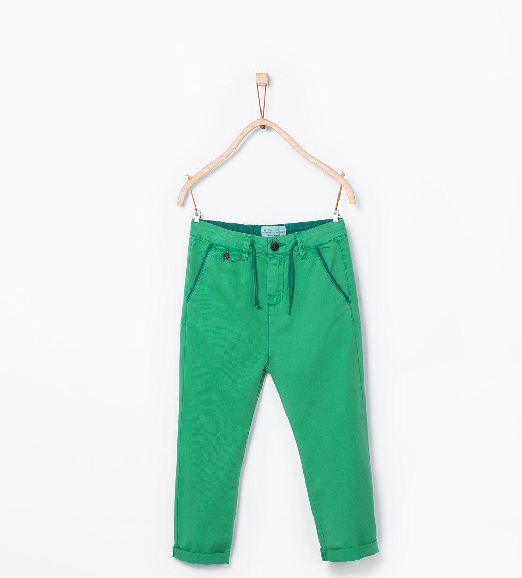 Image 1 de Pantalon style chino de Zara